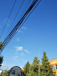 平成30年10月27日のルームズバー上空です