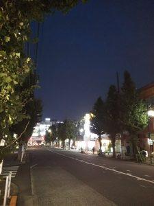 平成30年11月12日 夜のとちの木通り