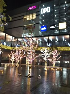 八王子駅南口 サザンスカイタワー広場
