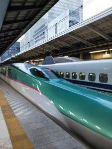 平成30年11月22日 東京駅の新幹線です
