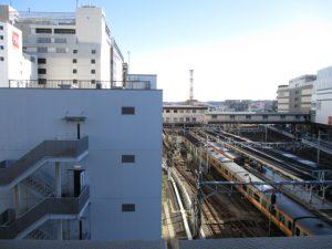 電車が近いですね~