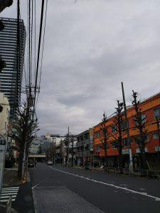 平成30年12月23日 朝のとちの木通りです