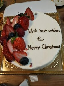 Akameruのクリスマスケーキ