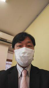 マスク姿ですいません(^_^;)