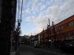 平成31年2月21日 夕方のとちの木通りです