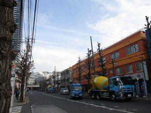 平成31年2月25日 朝のとちの木通りです