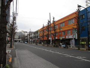 平成31年2月27日 朝のとちの木通りです