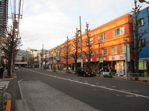 平成31年3月17日 夕方のとちの木通りです