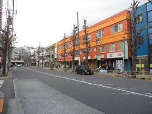 平成31年3月22日 夕方のとちの木通りです