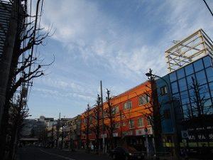 平成31年4月5日 夜のとちの木通りです