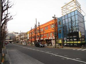 平成31年4月7日 夕方のとちの木通りです