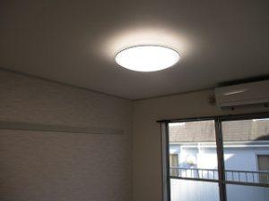 居室照明をセットしました