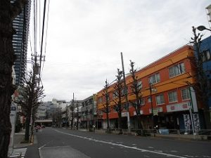 平成31年4月12日 朝のとちの木通りです