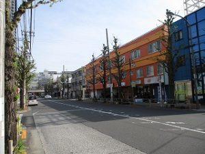 平成31年4月20日 朝のとちの木通りです