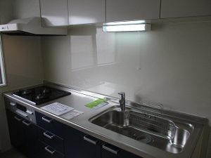 システムキッチン新規入れ替え