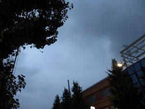 令和元年9月22日 夜のRoom's Bar上空です