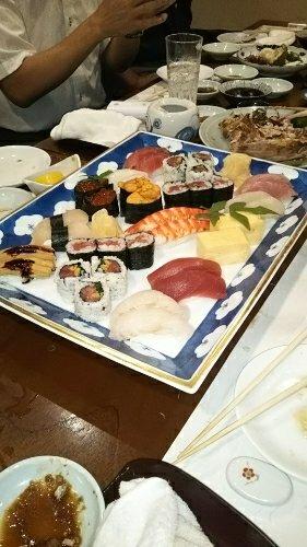 お寿司を堪能~