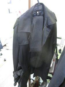 コート、マフラー、手袋