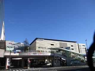令和2年2月9日 朝の八王子駅南口