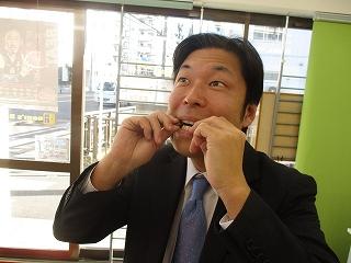 必殺ダブル食い!(よくわかりませんね^^;)