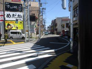 野猿街道にも車で通行できるようになり。。。