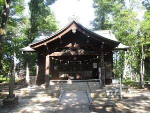 2020年5月29日 富士森公園の浅間神社です