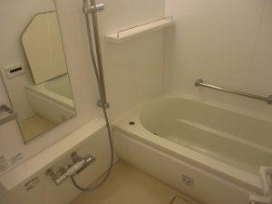 浴室も広くて使いやすそう!