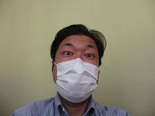 マスクを付けて営業してますが。。。