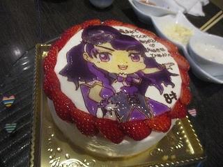 ファントミクローバーのキャラケーキ