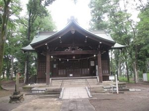 2020年6月2日 富士森公園の浅間神社です