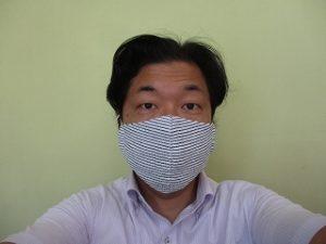 今日のお義母さんの布マスクはこちら!