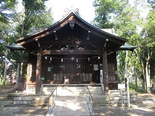 2020年8月16日 朝の富士森公園の浅間神社です