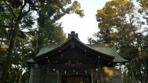 2020年9月5日 朝の富士森公園の浅間神社です