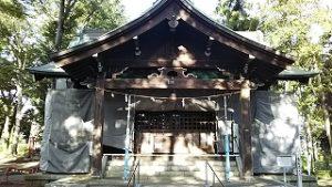 2020年9月8日 朝の富士森公園の浅間神社です