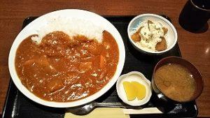 日替わりBのこんちゃんの早矢仕ライスと白身魚フライタルタルソース~