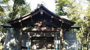 2020年9月11日 朝の富士森公園の浅間神社です