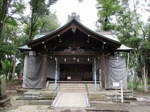 2020年9月13日 朝の富士森公園の浅間神社です