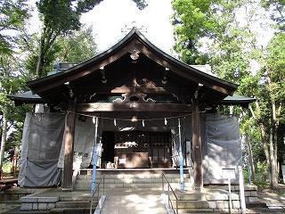 2020年9月15日 朝の富士森公園の浅間神社です