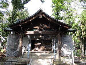 2020年9月14日 朝の富士森公園の浅間神社です