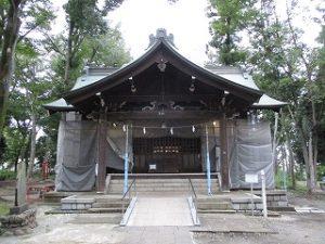 2020年9月19日 朝の富士森公園の浅間神社です