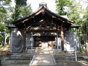 2020年9月22日 朝の富士森公園の浅間神社です
