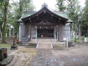 2020年9月25日 朝の富士森公園の浅間神社です