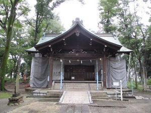 2020年9月27日 朝の富士森公園の浅間神社です