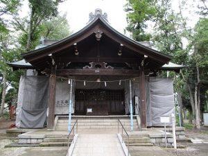 2020年9月29日 朝の富士森公園の浅間神社です
