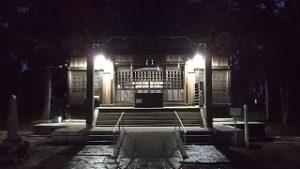 2020年10月17日 朝の富士森公園の浅間神社です