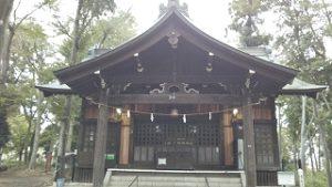 2020年10月23日 朝の富士森公園の浅間神社です
