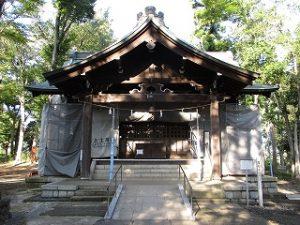 2020年10月2日 朝の富士森公園の浅間神社です