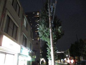 2020年10月6日 夜のRoom's Bar前イマソラです