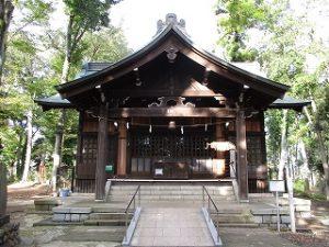 2020年10月13日 朝の富士森公園の浅間神社です