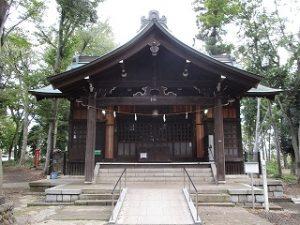 2020年10月19日 朝の富士森公園の浅間神社です